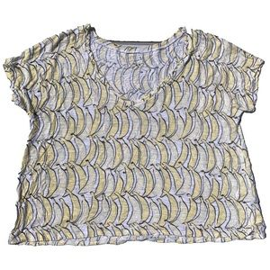 ☀️4/25 Aeropostale Banana-Print Cropped T-Shirt